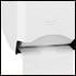 Porta Papel Higiênico Inox Duplo White