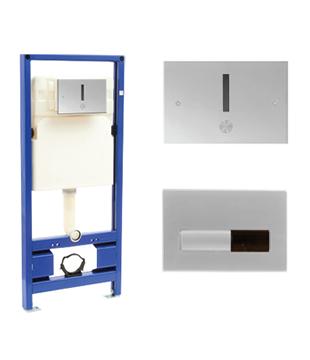 Caixa de Descarga Embutida Sensor Lux- 80.140
