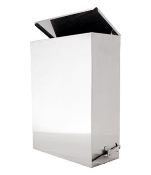 Lixeira Inox Prime Quadrat 9 - 70.229