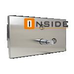 Dispenser de Sabonete Pressão/ Apertar PRIME PRESS EMBUTIR