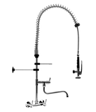 Torneira Sensor Parede Pré-Rinse - 53.100